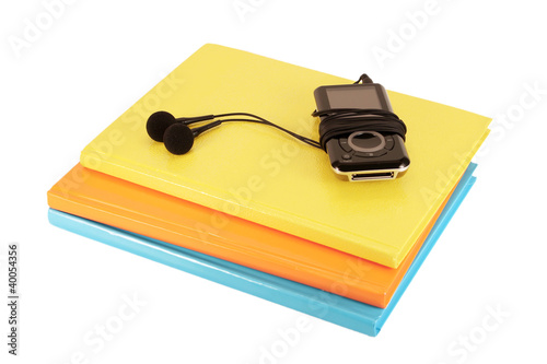 Mp3 player and notebooks