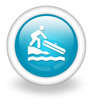 "Light Blue Icon ""Hand Launch / Small Boat Launch"""