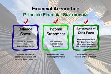 Principles of Financial Accounting Diagram