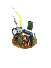 Board for an energy saving lamp