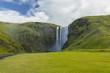 der Skógafoss auf Island