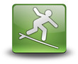 "Green 3D Effect Icon ""Surfing"""