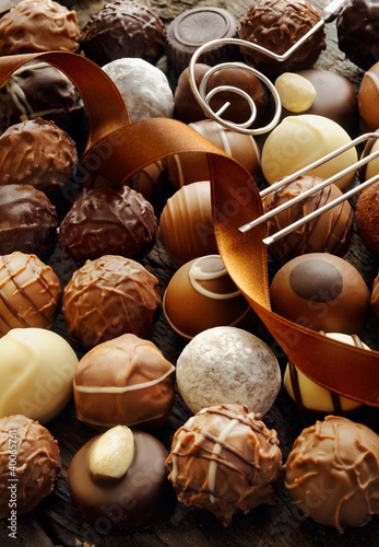 Luxury Chocolate Background