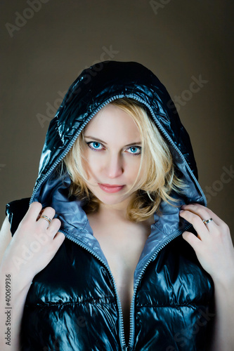 woman in jacket