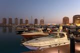 Marina in Porto Arabia, Doha Qatar