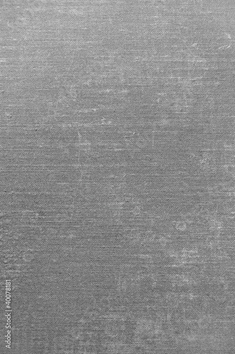 Detailed Dark Grey Grunge Linen Texture Background