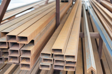 metal materials for construction