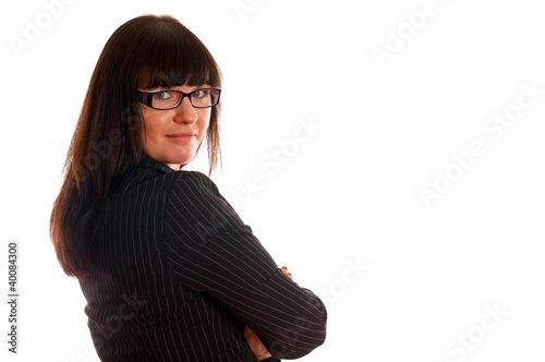 Portrait of a confident young business lady