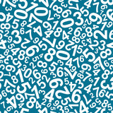 Seamless pattern with numbers - 40084791