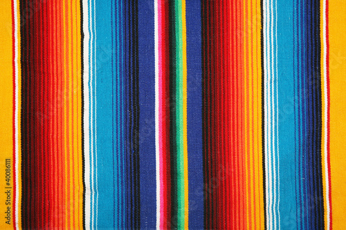 canvas print picture mexican pattern