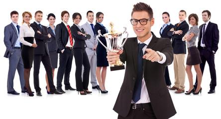 winning business team
