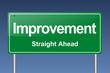improvement traffic sign