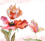 Watercolor background - 40092720