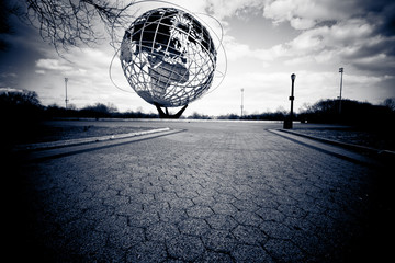 1964 Unisphere Relic from 1964 NYC Worlds Fair