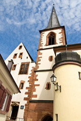 Haslach Church, baden-wurttemberg, Germany