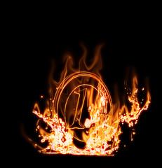 Euro flambant