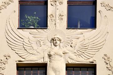 Leipzig Jugendstilhaus Detail