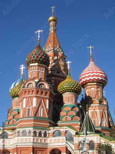 Rusland _ Moskva _ Saint Basils Cathedral _ 09