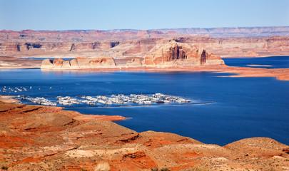 Marina Wahweap Bay Lake Powell Glen Canyon Arizona