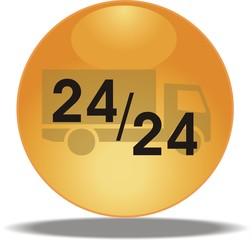 bouton livraison 24/24
