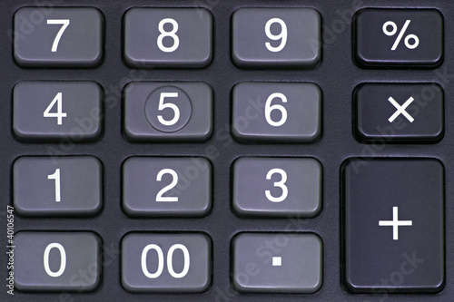 Calculator Pad