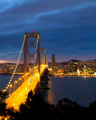 Bay Bridge, San Francisco California