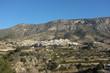 Costa Blanca inland scenics, Sella village, Spain