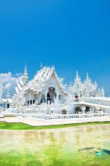 travel to wat Rong Khun,Chiangrai ,Thailand