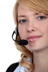 call center employee e