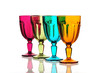 Colorful special design glasses