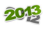 année 2013 versus 2012 poster