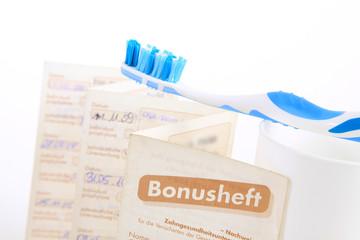 Bonusheft mit Zahnbürste