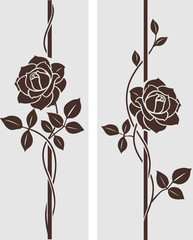 Rose decorative