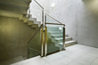 beautiful new  building interior, staircase