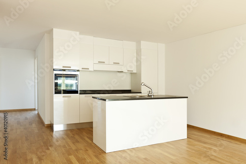 beautiful new  apartment, interior, open kitchen