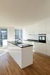 beautiful new  apartment, interior, kitchen.