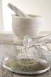 Argile verte : Préparation de la pâte