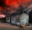 Gloomy apocalypse landscape - 40126381