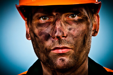 portrait oil industry worker