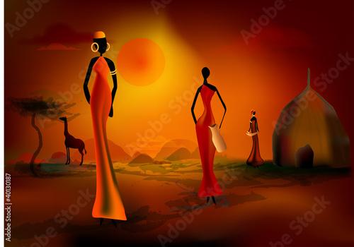 scène africaine