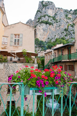 Saint Moustiers in France