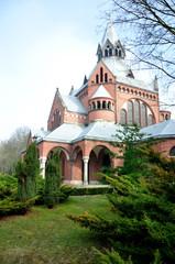 Kaplica cmentarna - Cmentarz Centralny - Szczecin