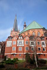 Katedra  w Szczecinie- Szczecińska Bazylika Metropolitarna