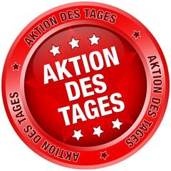 """Button """"Aktion des Tages"""" rot"""