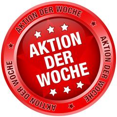 "Button ""Aktion der Woche"" rot"
