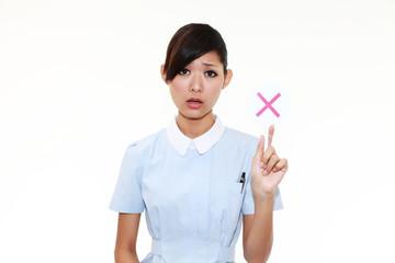 NGをだす看護士