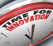 Time for Innovation Clock Need for Change and Ideas