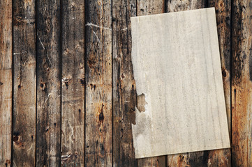 paper on old wood texture