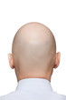 Bald man head
