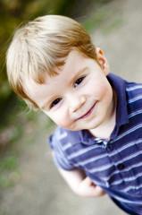 Enfant riant